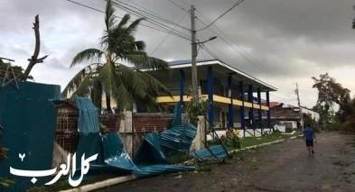 50 قتيلا في الفلبين جراء إعصار فانفوني