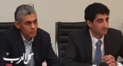 استلام المربي رائد دقة رئاسة بلدية باقة الغربية