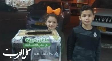 سخنين: تفاعل كبير مع حملة الإغاثة لأهالي غزة