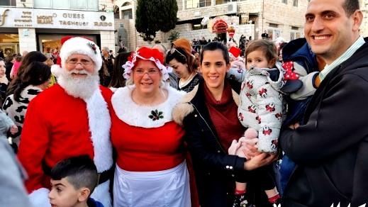 مسيرة الميلاد الاحتفالية في الناصرة