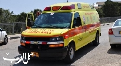 إصابة طفل جراء تعرّضه للدّهس في قلنسوة