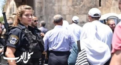 اعتقال 5 اشخاص في اعقاب الإخلال بالنظام بالحرم القدسي
