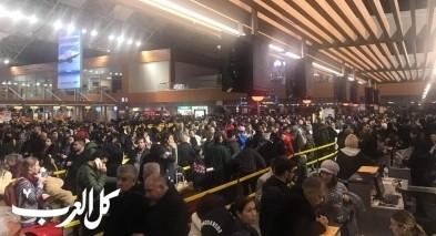 مواطنين من البلاد عالقون بمطار صبيحة