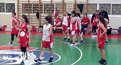 خسارة بيتية لفتيات مجد الكروم بكرة السلة