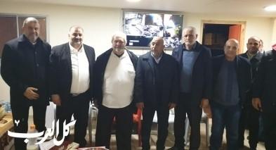 وفد من الحركة الاسلامية يزور رئيس بلدية شفاعمرو