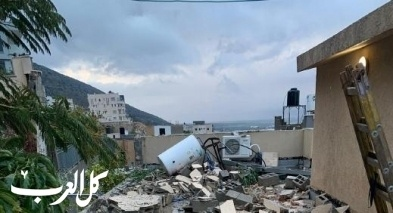 كفرمندا: انهيار جدار على منزل دون اصابات