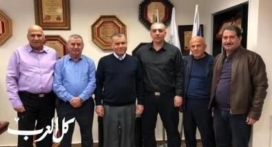 رئيس بستان المرج يستقبل مدير لواء الشمال