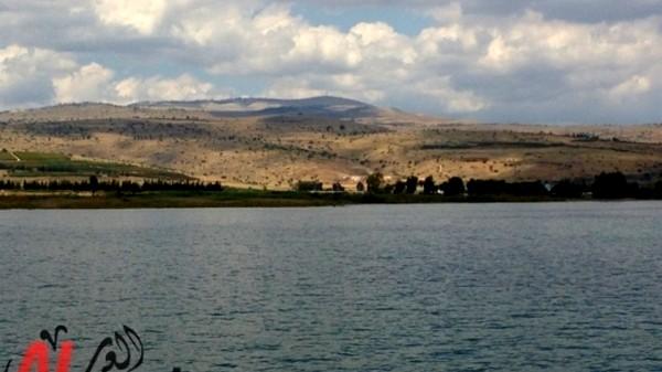 ارتفاع منسوب مياه بحيرة طبريا بـ 14سم