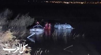الشمال: طواقم الانقاذ تخلّص عالقين بسيارة