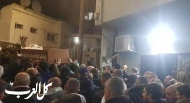 ام الفحم: المئات يشيعون ضحية حادث الطرق محمد جبارين