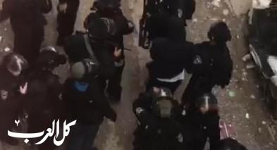 مواجهات في مخيم شعفاط خلال عملية اعتقال