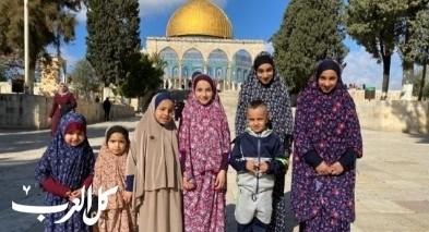 تسيير حافلات من رهط للمسجد الأقصى
