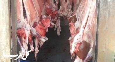 طرعان: مصادرة طن من اللحوم غير الصالحة للاستهلاك