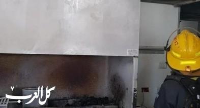 كفار تافور: إندلاع حريق في مطعم بدون اصابات