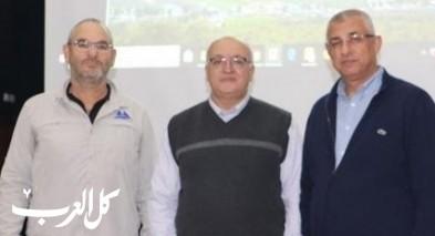 اختتام مؤتمر المزارعين حوض جبل طابور في دبورية