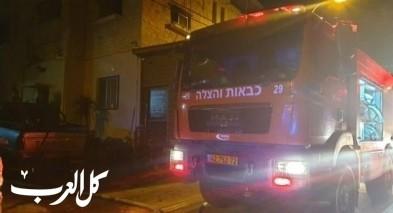 عرعرة: اندلاع حريق بمنزل دون وقوع إصابات