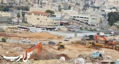 الناصرة: مشروع موقف الباصات بالمنطقة الصناعية