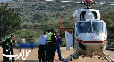 وادي سلامة: إصابة طفل بحروق بسبب مدفأة