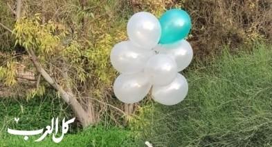 سقوط بالونات متفجرة اطلقت من غزة في سديروت