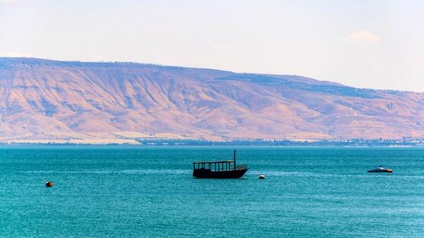 ارتفاع منسوب مياه بحيرة طبريا بـ5 سم بعد أيام من الأمطار