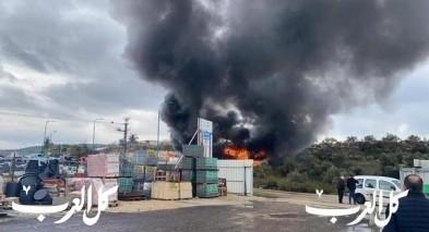 طمرة: 4 إصابات خطيرة جرّاء إنفجار في مصنع