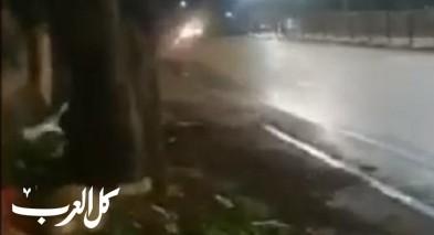 فيديو: توثيق اطلاق رصاص في ميسر