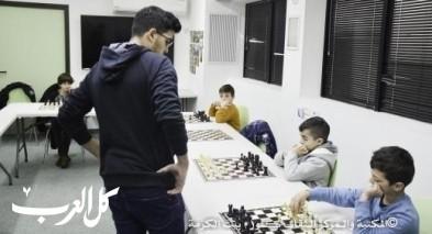 ترسيخ لعبة الشطرنج في المجتمع الحيفاوي
