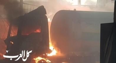طمرة: اعتقال سائق شاحنة بشبهة الاهمال بعد الانفجار