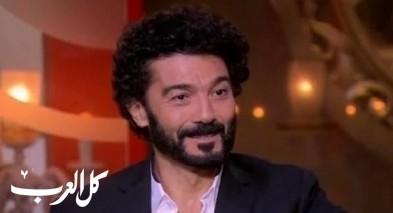 إصابة الممثل خالد النبوي بأزمة قلبية