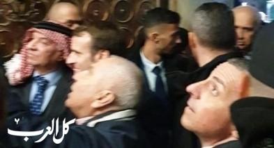 القدس: ماكرون يطرد الشرطة الإسرائيلية من كنيسة