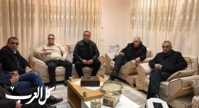 التجمع في زيارة تضامنية لرئيس مجلس يافة الناصرة