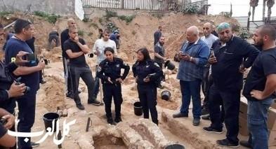 مبنى للمشردين على انقاض مقبرة الإسعاف في مدينة يافا