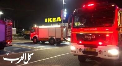 كريات اتا: طواقم الاطفاء تهرع الى مجمع تجاري