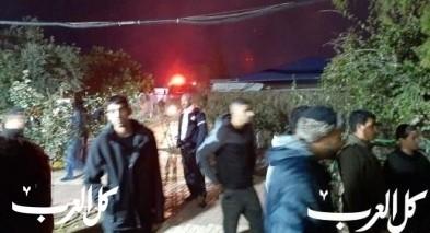 النقب: اندلاع حريق بمدرسة بقرية السيد