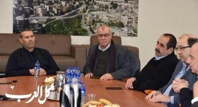 المتابعة والقطرية بمجلس يافة الناصرة