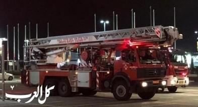 جسر الزرقاء: اصابات اثر حريق منزل