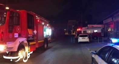 جديدة المكر: إصابتان إثر حريق في منزل