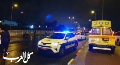 مصرع سائق دراجة نارية بحادث طرق قرب اشدود