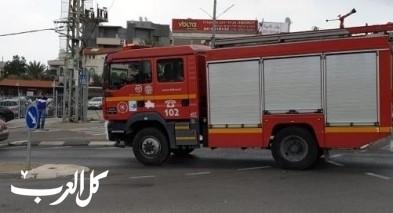عرابة: اندلاع حريق داخل محل أثاث