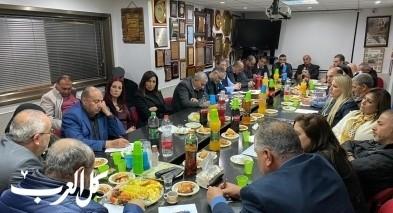 العربية للتغيير تعقد اجتماعًا للجنة المركزية