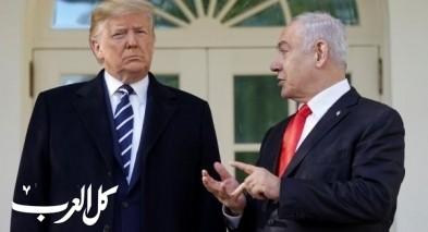 نتنياهو يلتقي ترامب: نشر خطة السلام غدا