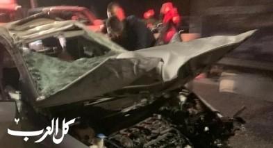 حادث على شارع الرينة - نوف هجليل