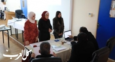 الجامعة العربية الامريكية تناقش مشاريع رائدة لطلبتها