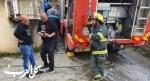إندلاع حريق في منزل بمدينة الناصرة