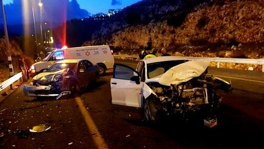 4 إصابات بحادث طرق قرب عكبرة