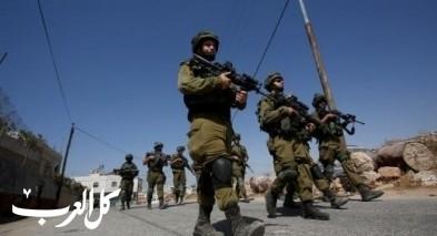 الجيش الاسرائيلي يواصل تعزيز قواته في منطقة الضفة