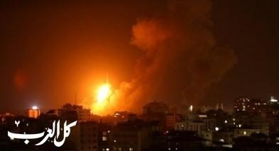 الجيش الاسرائيلي يقصف موقعا للمقاومة في غزة