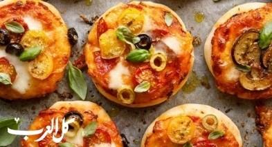 اسهل طريقة لتحضير أشهى ميني بيتزا