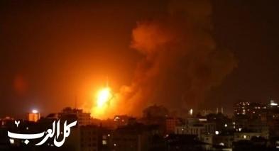 غارات على أهداف تابعة لمنظمة حماس في شمال غزة