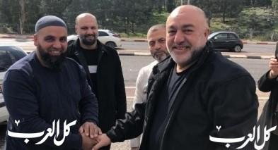 اطلاق سراح الأسير الأمني يحيى سوطري من الناصرة